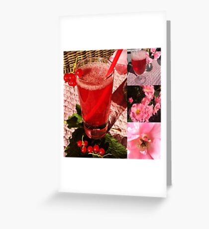 Pink Summer Greeting Card