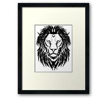 Lion I Framed Print