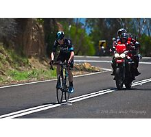 Chris Froome, 2016 Jayco Herald Sun Tour, stage 4 Arthur's Seat Photographic Print