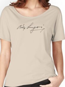 Bela Lugosi signature Women's Relaxed Fit T-Shirt