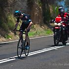 Chris Froome, 2016 Jayco Herald Sun Tour, stage 4 Arthur's Seat by Steven Weeks