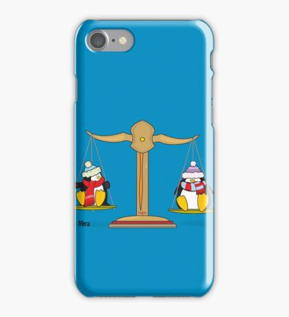 funny zodiac/libra iPhone Case/Skin