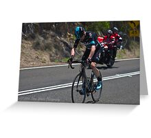 2016 Jayco Herald Sun Tour, stage 4 Arthur's Seat Greeting Card