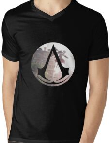 ASSASIN Mens V-Neck T-Shirt