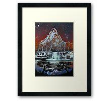 Night on the Lake Framed Print