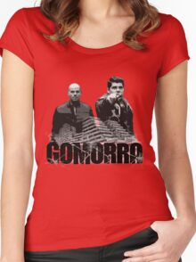 GOMORRA Women's Fitted Scoop T-Shirt