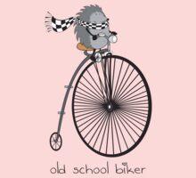 old school biker One Piece - Long Sleeve