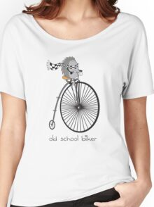 old school biker Women's Relaxed Fit T-Shirt