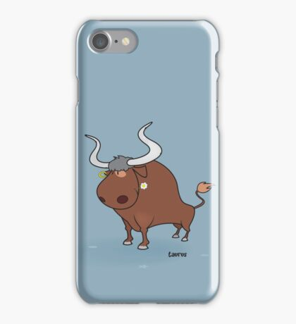 funny zodiac/taurus iPhone Case/Skin