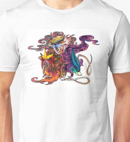 Fire, Water, Lightning Unisex T-Shirt