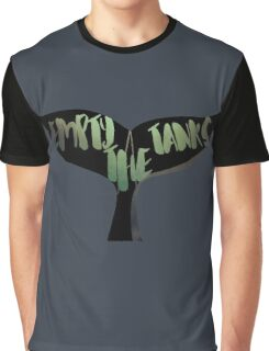 Empty the Tanks - A Pledge for Orcas Graphic T-Shirt