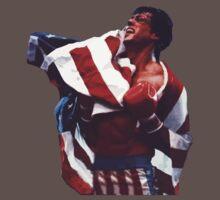 Rocky Balboa - The american dream One Piece - Short Sleeve