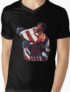 Rocky Balboa - The american dream Mens V-Neck T-Shirt