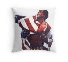 Rocky Balboa - The american dream Throw Pillow
