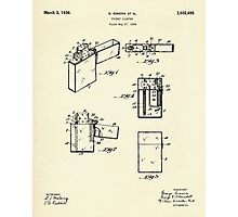 Pocket Lighter-1936 Photographic Print