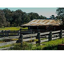 Cattle Shed Photographic Print