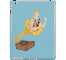 live from your living room iPad Case/Skin