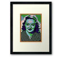 Bettie Davis Framed Print