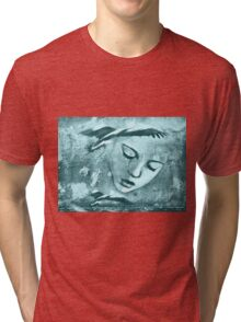 As Mia continued to read Pelicans flew out of the book and circled her head Tri-blend T-Shirt