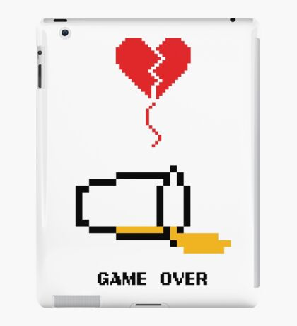Beer's over, game over. iPad Case/Skin