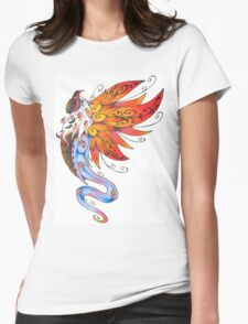 Volcarona Womens Fitted T-Shirt