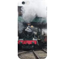 Vintage Steam Railway Train at the Station iPhone Case/Skin