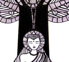 Buddha Under the Bodhi Tree Sticker