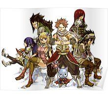 RPG Heroes Poster