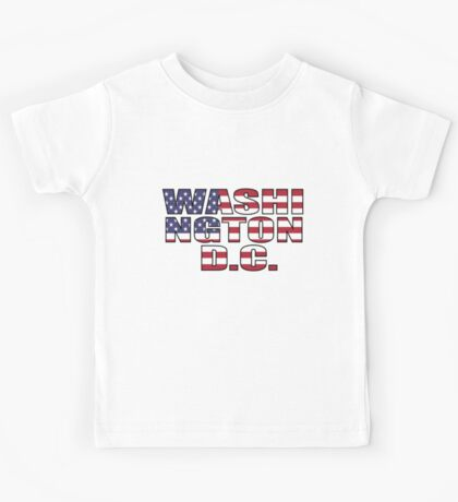 Washington D.C Kids Tee