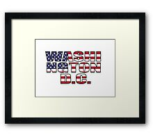 Washington D.C Framed Print