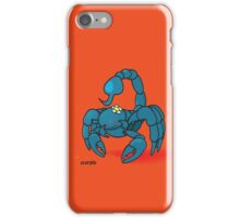 funny zodiac/scorpio iPhone Case/Skin