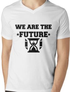 WE ARE THE FUTURE Mens V-Neck T-Shirt