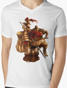 Ornstein & Smough Mens V-Neck T-Shirt