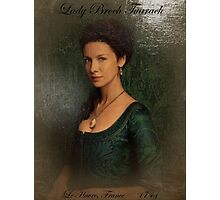 Outlander/Lady Broch Tuarach painting  Photographic Print