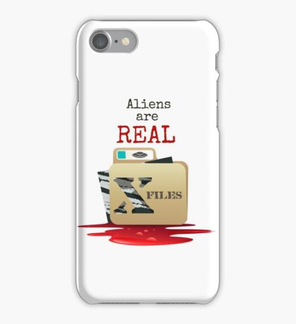 The X Files iPhone Case/Skin
