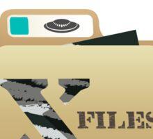 The X Files Sticker