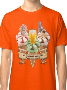 Three Flavours Cornetto Trilogy with banner Classic T-Shirt