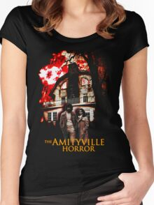 Amityville Horror Movie T-Shirt Women's Fitted Scoop T-Shirt