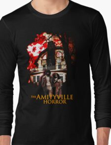 Amityville Horror Movie T-Shirt Long Sleeve T-Shirt