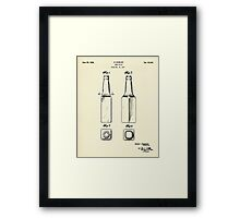 Beer Bottle-1934 Framed Print