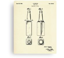 Beer Bottle-1934 Canvas Print