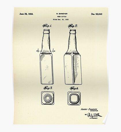 Beer Bottle-1934 Poster