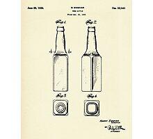 Beer Bottle-1934 Photographic Print
