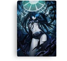 Black Rock Shooter Body Stitches Canvas Print