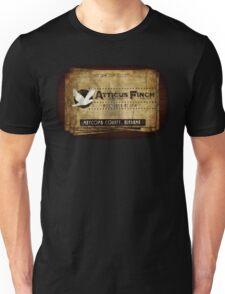 Atticus Finch To Kill A Mockingbird T-Shirt Unisex T-Shirt