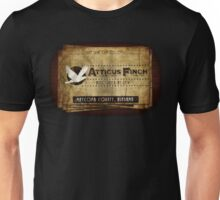 Atticus Finch To Kill A Mockingbird T-Shirt Unisex T-Shirt