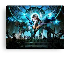 Epic Win Black Rock Shooter Canvas Print