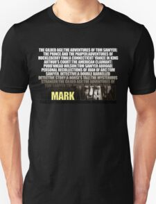 Mark Twain Novels T-Shirt T-Shirt