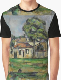 Paul Cezanne - Banks of the Marne  1888 Impressionism  Landscape Graphic T-Shirt