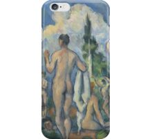 Paul Cezanne - Bathers  1890 Woman Portrait Impressionism iPhone Case/Skin